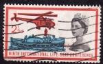 Stamps United Kingdom -  9ª Comferencia Internacional de Botes salvavidas