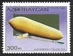 Sellos del Mundo : Asia : Azerbaiyán : Zepelines - Dirigeable Scott Baldwin