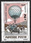 Sellos de Europa - Hungría -  Globos Aerostáticos - Balloon Competition, 1904