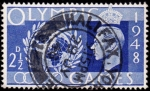 Sellos de Europa - Reino Unido -  Juegos olimpicos