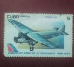 Stamps : America : Cuba :  Cubana 80 años de su fundacion 1929-2009
