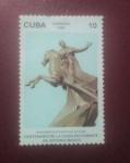 Stamps : America : Cuba :  Centenario de la caida en cobate de antonio maceo