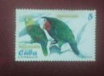 Stamps : America : Cuba :  Cotorras