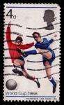 Stamps United Kingdom -  Mundial del 66