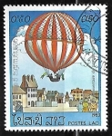 Sellos de Asia - Laos -  200 años de la aviacion - Air Balloon
