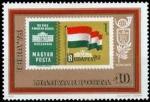 de Europa - Hungría -  IBRA '73 - Bandera Húngara