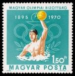 de Europa - Hungría -  75 años del comité olímpico húngaro