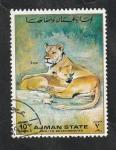 de Asia - Emiratos Árabes Unidos -  Ajman - Leones