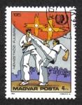 de Europa - Hungría -  Para Los Jovenes, Karate