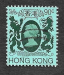 Stamps Hong Kong -  396 - Isabel II del Reino Unido