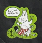 Stamps : Europe : Finland :  2210 - Moomin