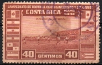 Stamps Costa Rica -  CAMPEONATO  DE  FOOTBALL  CENTROAMERICANO  Y  DEL  CARIBE
