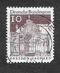 Stamps Germany -  903 - Zwinger de Dresde