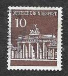 Sellos de Europa - Alemania -  937 - La Puerta de Brandeburgo