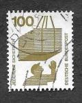 Stamps Germany -  1083 - Prevención de Accidentes