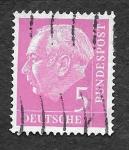 sellos de Europa - Alemania -  704 - Theodor Heuss
