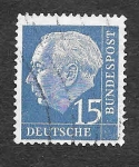 Stamps Germany -  709 - Theodor Heuss