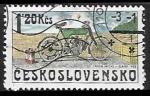 sellos de Europa - Checoslovaquia -  Motocicletas - Orion Michl, Slaný 1903