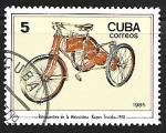 sello : America : Cuba : Motocicletas - Kayser-Dreirad, 1910