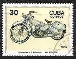 sello : America : Cuba : Motocicletas - Mars A20, 1926