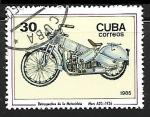 Sellos de America - Cuba -  Motocicletas - Mars A20, 1926