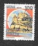 Stamps Italy -  1415 - Castillo Aragonés