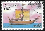 Sellos de Asia - Afganistán -  Barcos - Danish Warship