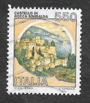 Stamps : Europe : Italy :  1478 - Castillo Roca Sinibalda