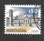 Stamps : Europe : Portugal :  1124 - Universidad de Coimbra