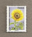 Sellos de Europa - Francia -  Girasol