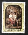 Stamps Mauritius -  Pablo y La Virgen