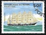 de Africa - Benin -  Barcos - Barque