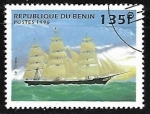 Stamps Africa - Benin -  Barcos -
