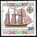 Stamps Europe - Bulgaria -  barcos - Topsail Sooner