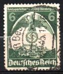 Stamps Europe - Germany -  135  CONGRESO  NAZI  EN  NUREMBERG
