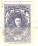 Stamps America - Argentina -  san martin