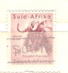 Stamps Africa - South Africa -  bufalo