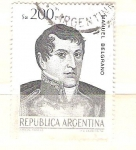 Sellos de America - Argentina -  manuel belgrano