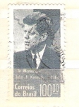 Stamps America - Brazil -  Kennedy