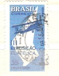 de America - Brasil -  exposición filatelica