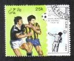 de Asia - Laos -  Copa mundial de Futbol, Italia 90