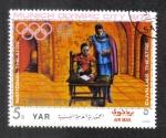 de Asia - Yemen -  Ciudad olímpica, munich escenas de teatro, R. Wagner: The master singers