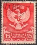 Stamps Asia - Indonesia -  ESCUDO  DE  ARMAS