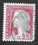 Stamps France -  968 - Mariam