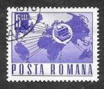 Stamps Romania -  1988 - XL Aniversario de la 1ª Central telefónica automática