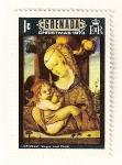 Sellos del Mundo : America : Granada : Navidad 1973. Virgen con el niño, Carlo Crivelli.
