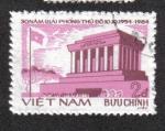 Sellos del Mundo : Asia : Vietnam : Liberación de Hanoi, 30 de Anniv. Mausoleo de Ho Chi Minh
