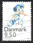 Stamps Denmark -  CICLISMO