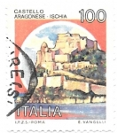 Stamps : Europe : Italy :  castillo aragones