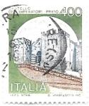 Sellos del Mundo : Europa : Italia : castillo del emperador